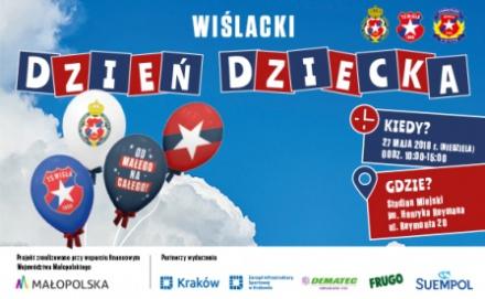 f0b915856 Zapraszamy na Wiślacki Dzień Dziecka! Data publikacji: 18-05-2018 17:46. Wisła  Kraków SA oraz Towarzystwo Sportowe ...