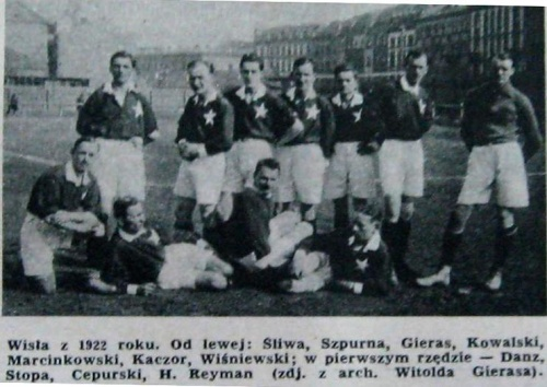 Kazimierz Potocki Wikipedia: Kadra Wisły 1922 (piłka Nożna)